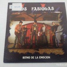 Discos de vinilo: LOS FABIOLAS/RITMO DE LA EMOCION/SINGLE.. Lote 288972943