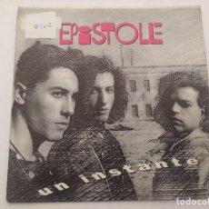 Discos de vinilo: EPISTOLE/UN INSTANTE/SINGLE PROMOCIONAL.. Lote 288973558