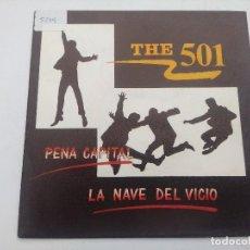 Discos de vinilo: THE 501/PENA CAPITAL/SINGLE PROMOCIONAL.. Lote 288974088