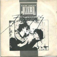 Discos de vinilo: GENE LOVES JEZEBEL / BRUISES / INFLUENZA (SINGLE GRABACIONES ACCIDENTALES 1984). Lote 288974758