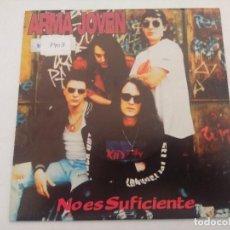 Discos de vinilo: ARMA JOVEN/NO ES SUFICIENTE/SINGLE PROMOCIONAL.. Lote 288974798