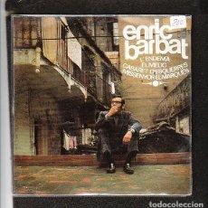 Discos de vinilo: ENRIC BARBAT: CATALUNYA - POP CATALAN DE LOS 60'S YE YE- OPORTUNIDAD 2 EPS EN OFERTA. Lote 288978038