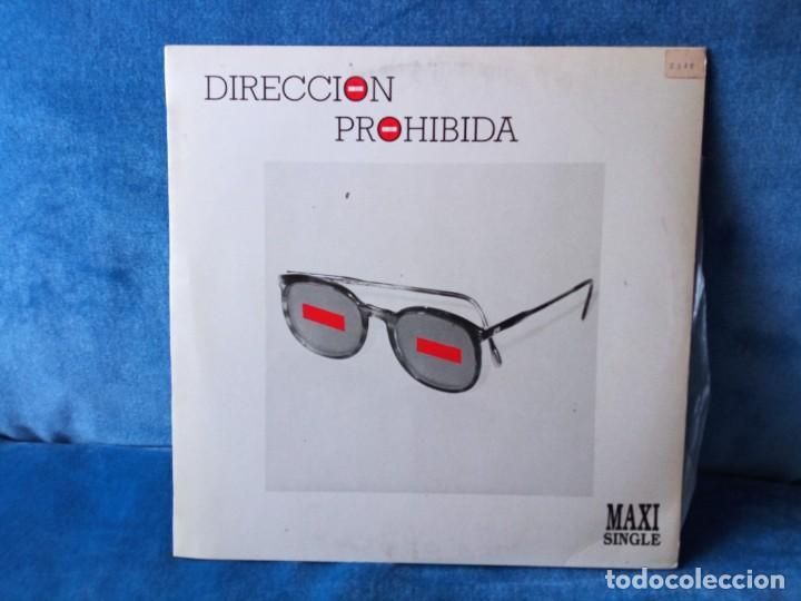MAXI VINILO DIRECCION PROHIBIDA - 1986 (Música - Discos de Vinilo - Maxi Singles - Grupos Españoles de los 70 y 80)