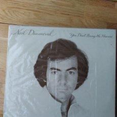 Discos de vinilo: NEIL DIAMOND - YOU DON'T BRING ME NO FLOWERS. Lote 288980383