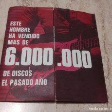 Discos de vinilo: ESTE HOMBRE HA VENDIDO MAS DE 6.000000 DE DISCOS ESTE AÑO-DANIEL BOONE / SUNSHINE LOVER. PROMOCIONAL. Lote 288981193