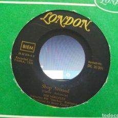 Discos de vinilo: THE MIRACLES SINGLE SHOP AROUND / WHO'S LOVIN YOU ALEMANIA 1961 ESCUCHADO. Lote 288983273
