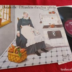 Discos de vinilo: WENN DIE BLUMLEIN DRUSSEN ZITTERN LP HACKSTOCK+BARBAROSSA+RENATE HOLLAND LP AMIGA GERMANY FOLK. Lote 288983353