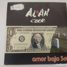 Discos de vinilo: ALAN COOP/AMOR BAJO EL SOL/SINGLE.. Lote 288985278