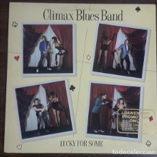 Discos de vinilo: CLIMAX BLUES BAND – LUCKY FOR SOME -LP-. Lote 288991713