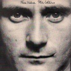 Disques de vinyle: PHILS COLLINS - FACE VALUE / LP ATLANTIC DE 1981 / BUEN ESTADO RF-10354. Lote 288996223