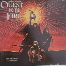 Discos de vinilo: QUEST FOR FIRE. EN BUSCA DEL FUEGO. PHILIPPE SARDE. Lote 288996293