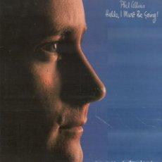 Disques de vinyle: PHIL COLLINS - HELLO, I MUST BE GOING! / LP WEA DE 1982 / BUEN ESTADO RF-10365. Lote 288996543