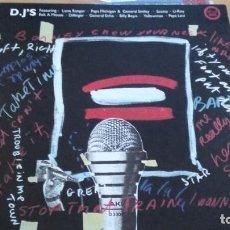 Discos de vinilo: REGGAE GREATS D.J.'S LP VINILO VARIOS. Lote 288996793