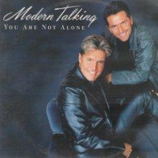 Disques de vinyle: MODERN TALKING - YOU ARE NOT ALONE / MAXI SINGLE DE 1999 / BUEN ESTADO RF-10357. Lote 288996978