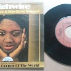 Discos de vinilo: LINDA CARR & THE LOVE SQUAD / HIGHWIRE / SINGLE 7 INCH. Lote 288997093