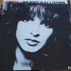 Discos de vinilo: NENA FEUER & FLAMME LP CON INSERTO 1985. Lote 288997188