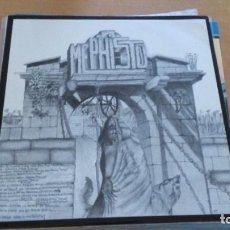 Discos de vinilo: MEPHISTO MERGUS – MEPHISTO / MERGUS LP SPAIN 1987. Lote 288997403