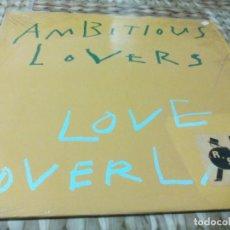 Discos de vinilo: MX. AMBITITIOUS LOVERS - LOVE OVERLAP. Lote 288997488