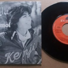 Discos de vinilo: KENJI SAWADA / ATTENDS-MOI / SINGLE 7 INCH. Lote 288997643