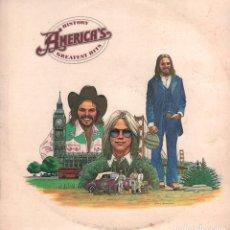 Discos de vinilo: HISTORY AMERICA'S - GREATEST HITS / LP HISPAVOX DE 1975 / BUEN ESTADO RF-10362. Lote 288997908