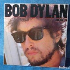 Discos de vinilo: DISCO VINILO BOB DYLAN - INFIDELS. Lote 288998363