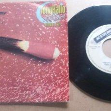 Discos de vinilo: TONY RALLO & THE MIDNITE BAND / BURNIN' ALIVE / SINGLE 7 INCH. Lote 289002323