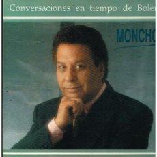 Discos de vinilo: MONCHO - CONVERSACIONES EN TIEMPO DE BOLERO - LP 1990. Lote 289003933
