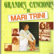 Discos de vinilo: MARI TRINI - GRANDES CANCIONES DE MARI TRINI - DOBLE LP 1983 - PORTADA DOBLE. Lote 289005003