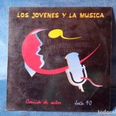 Discos de vinilo: DISCO VINILO LOS JOVENES Y LA MUSICA - CANCION AITOR JAEN 1990. Lote 289008743