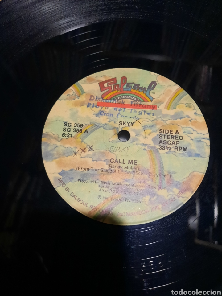 Discos de vinilo: Skyy - Call me - Foto 2 - 289008783