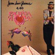 Disques de vinyle: JUAN LUIS GUERRA 4.40 - BACHATA ROSA - LP 1990. Lote 289008943
