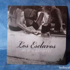 Discos de vinilo: DISCO VINILO LOS ESCLAVOS - EN EL SUBMARINO (VINILO TRANSPARENTE). Lote 289009128
