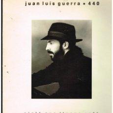 Disques de vinyle: JUAN LUIS GUERRA 4.40 - OJALA QUE LLUEVA CAFE - LP 1990. Lote 289009393