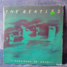 Discos de vinilo: DISCO VINILO BEATLES - CANCIONES DE AMOR (2LP). Lote 289009733