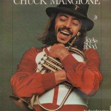 Discos de vinilo: CHUCK MANGIONE - FELLS SO GOOD / LP AM RECORDS DE 1978 / BUEN ESTADO RF-10371. Lote 289010493