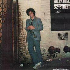 Discos de vinilo: BILLY JOEL - 52 ND STREET / LP CBS DE 1979 / MUY BUEN ESTADO RF-10380. Lote 289011318