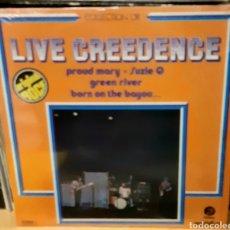 Discos de vinilo: MUSICA GOYO - LP - CREEDENCE CLEARWATER REVIVAL - LIVE CREEDENCE - RARÍSIMO - AA99. Lote 289012173