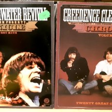 Discos de vinilo: MUSICA GOYO - LP - CREEDENCE CLEARWATER REVIVAL - CHRONICLE 1 Y 2 - 4 LP - AA99. Lote 289014273