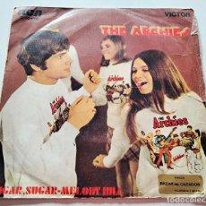 Discos de vinilo: VINILO SINGLE DE THE ARCHIES. SUGAR, SUGAR. 1969.. Lote 289015183