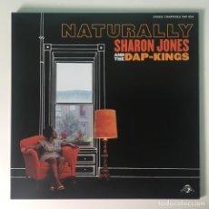 Discos de vinilo: SHARON JONES AND THE DAP-KINGS – NATURALLY, US DAPTONE RECORDS. Lote 289016298