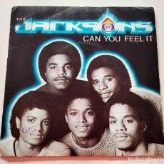 Discos de vinilo: VINILO SINGLE DE THE JACKSONS. CAN YOU FEEL IT. 1981.. Lote 289017043