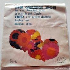 Discos de vinilo: VINILO SINGLE DE NEW CARLENGE SHOW. VEN A MI. 1969.. Lote 289018078