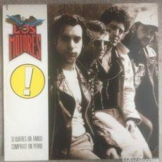 Discos de vinilo: LOS MOTORES - SI QUIERES UN AMIGO CÓMPRATE UN PERRO - LP DRO 1991. EDICIÓN ESPAÑOLA.. Lote 289028383