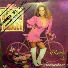 Discos de vinilo: KARINA CRUCET REINA DE CORAZONES VINILO PROMO 1992 LP EUREKA. Lote 289055528