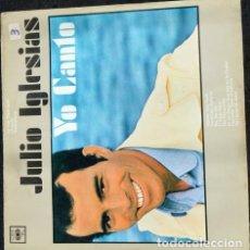 Discos de vinilo: JULIO IGLESIAS YO CANTO VINILO. Lote 289055763