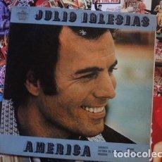 Discos de vinilo: JULIO IGLESIAS AMERICA VINILO LP. Lote 289061793