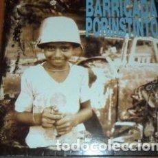 Discos de vinilo: BARRICADA POR INSTINTO VINILO HEAVY ESPANOL BARON ROJO. Lote 289067423