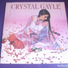 Discos de vinilo: CRYSTAL GAYLE – WE MUST BELIEVE IN MAGIC - LP UNITED ARTISTS 1977 - COUNTRY ROCK AMERICANA 70'S -. Lote 289192808
