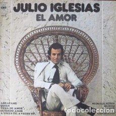 Discos de vinilo: EL ARCON LP VINILO JULIO IGLESIAS EL AMOR. Lote 289106328