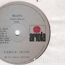 Discos de vinilo: CAMILO SESTO MELINA SIMPLE VINILO ARG. Lote 289131513